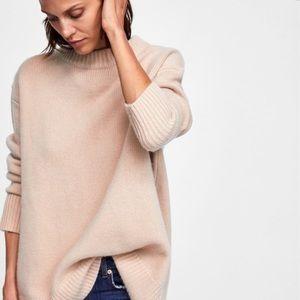 NWT Zara 100% Cashmere Sweater